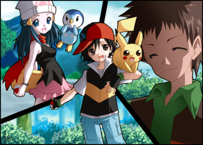 Image de jeux video - Page 2 Pokemon___A_new_beginning_by_Nefis