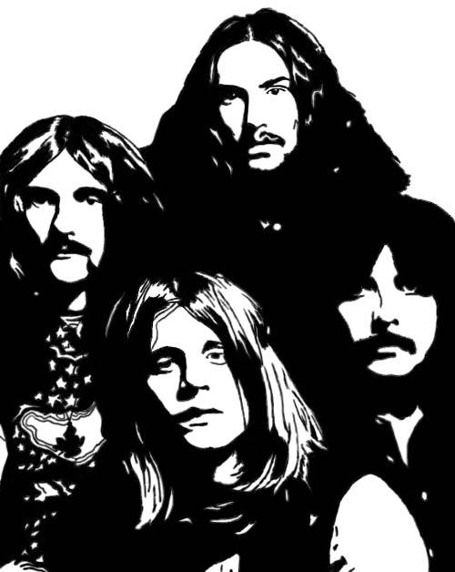 Black Sabbath by JADEMETALGLAM