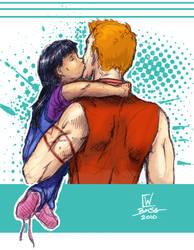 Kiss Kiss by afangirlsdream