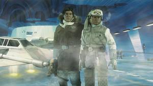 Star Wars -  Hoth : Han Solo And Luke Skywalker