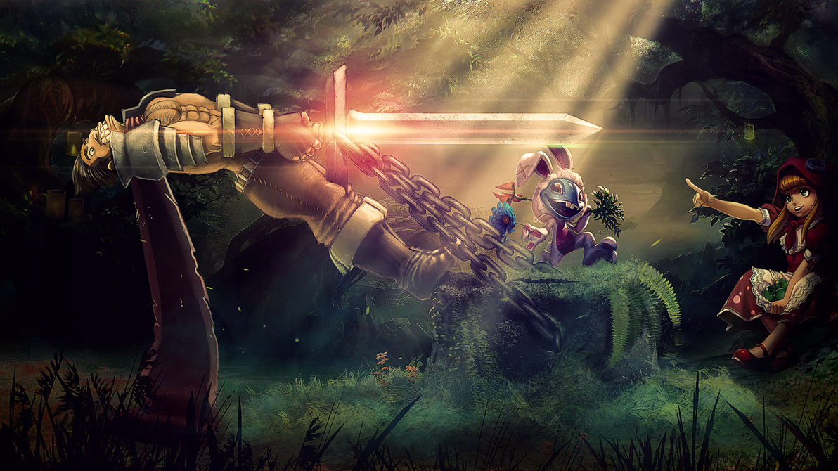 League Of Legends - Wallpaper by Aste17 on DeviantArt