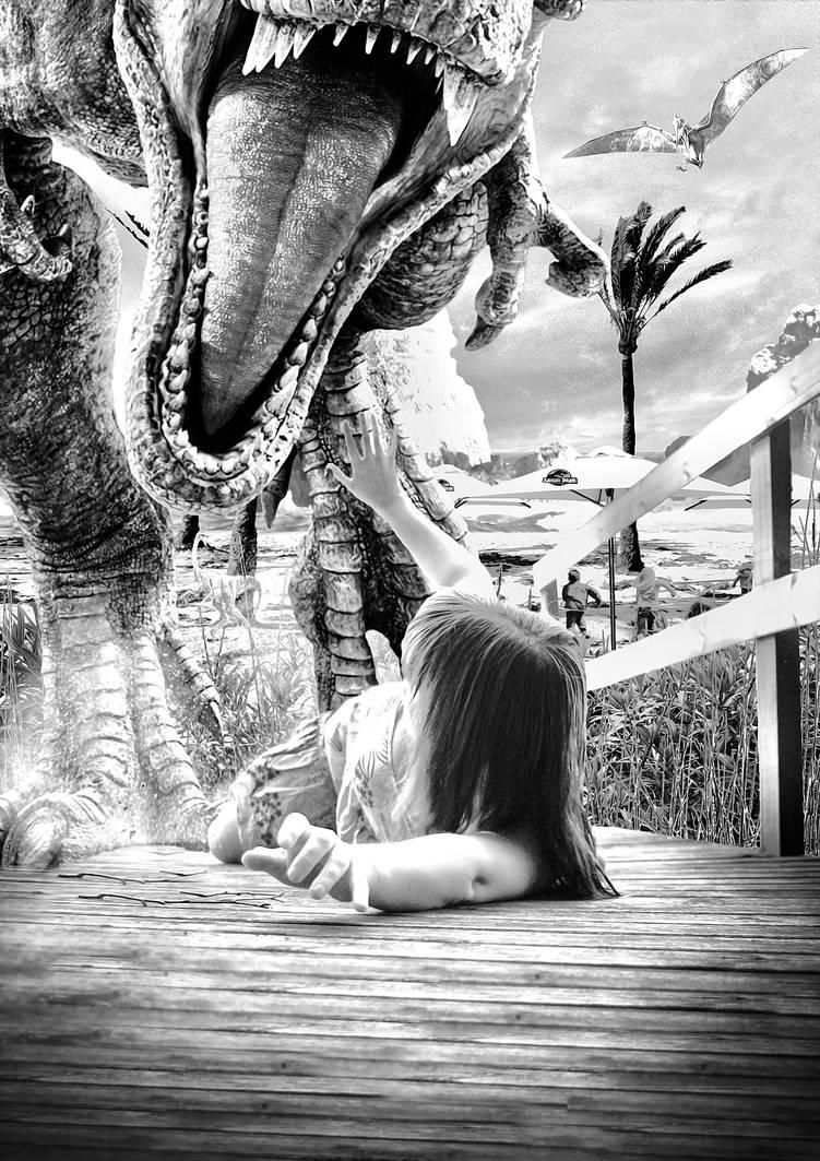 Jurassic Beach by Aste17