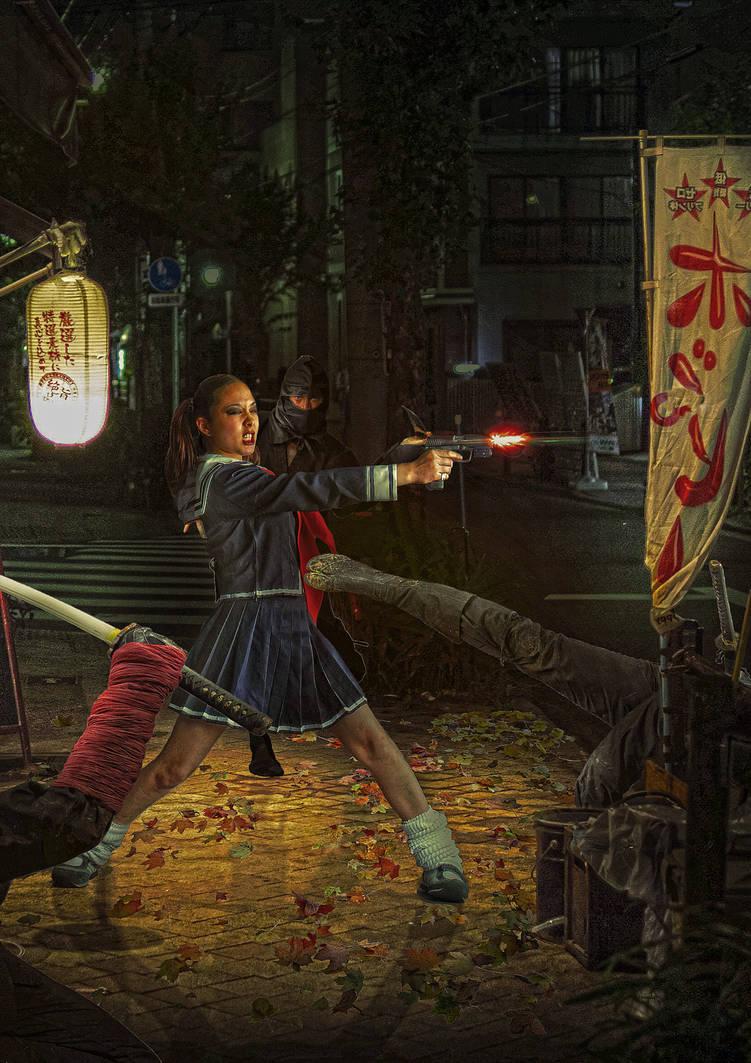 Japan Street by Aste17