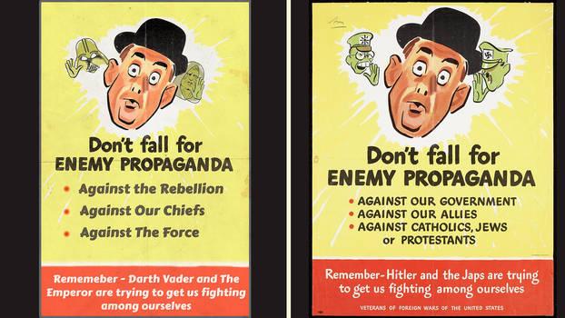 propaganda WW2  vs Star Wars 20