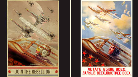 propaganda WW2  vs Star Wars 21