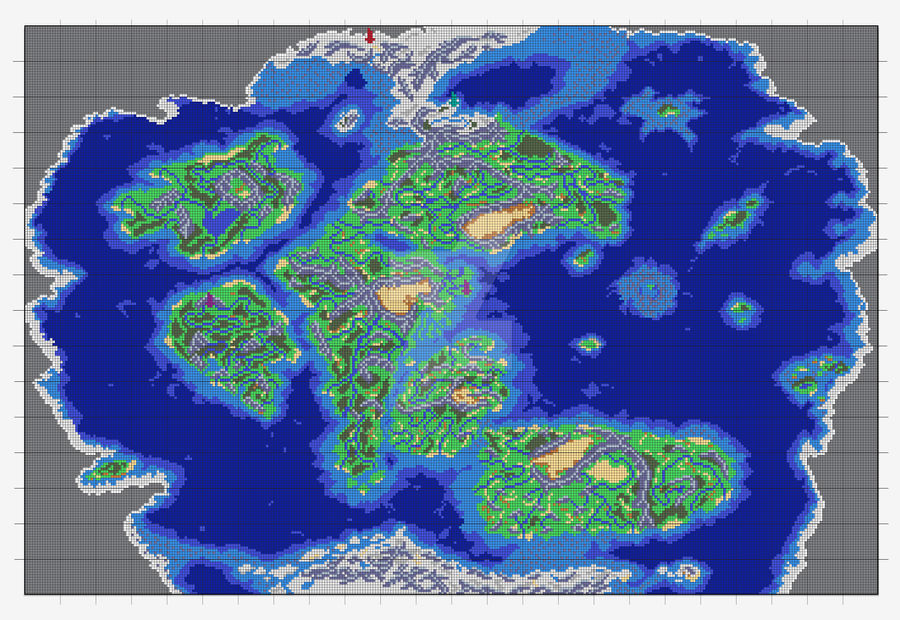 Golden Sun World Map WIP by AmaterasuWolf on DeviantArt