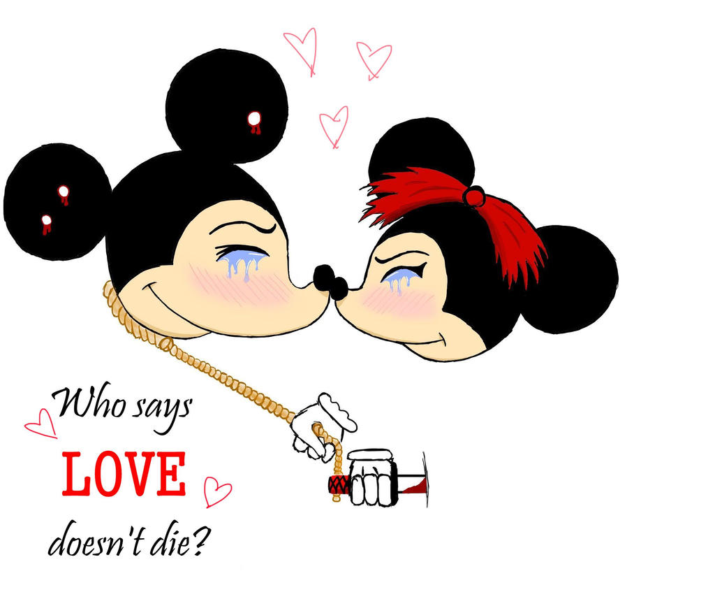 Psychopathic Disney Couple by HpyGrl567