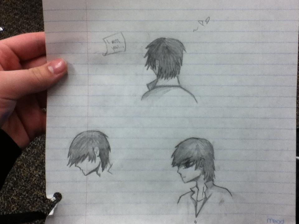 school sketches by HpyGrl567