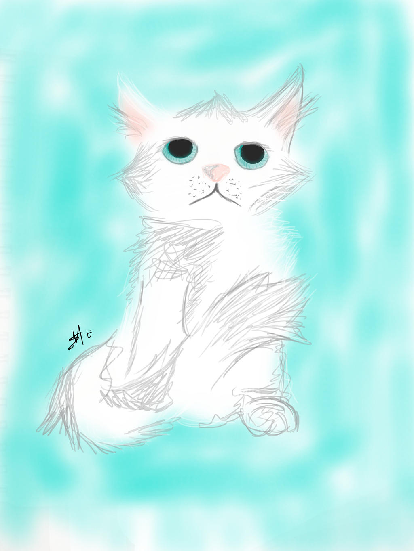 Kitten by HpyGrl567