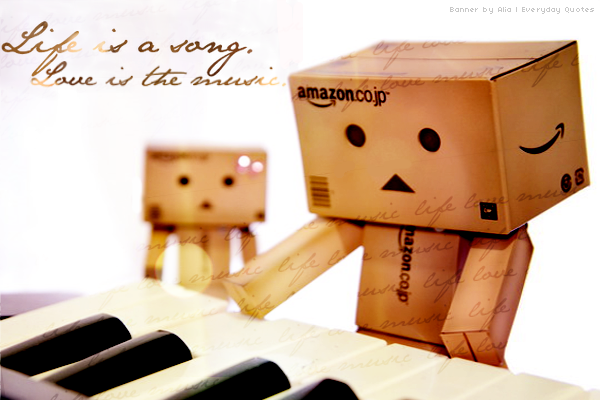 Everyday Quote #21: Sound of Danbo by sugarnote
