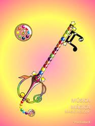 Musica Magica -Magic Melody- by portadorX