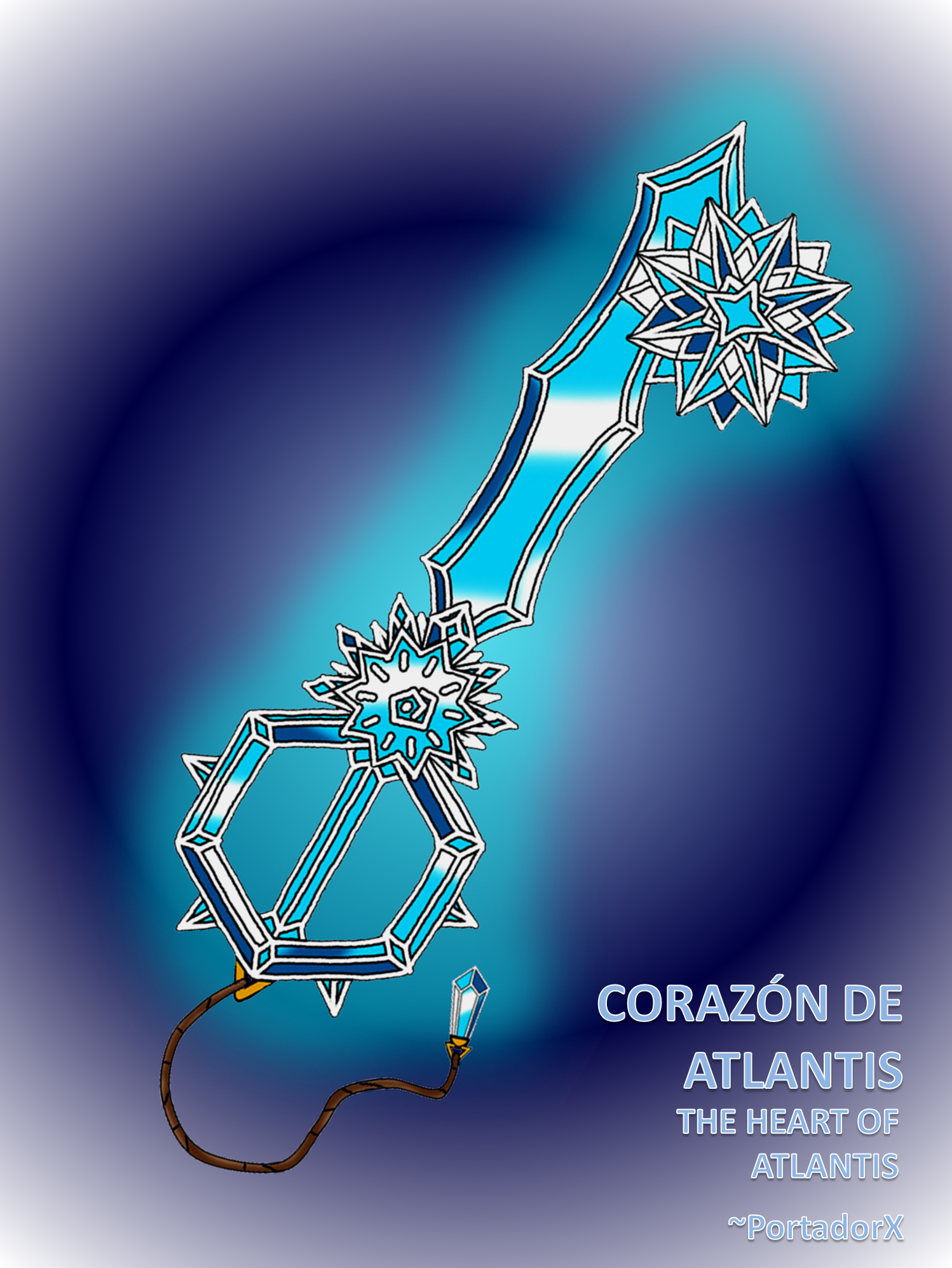 Corazon de Atlantis -The Heart of Atlantis- by portadorX