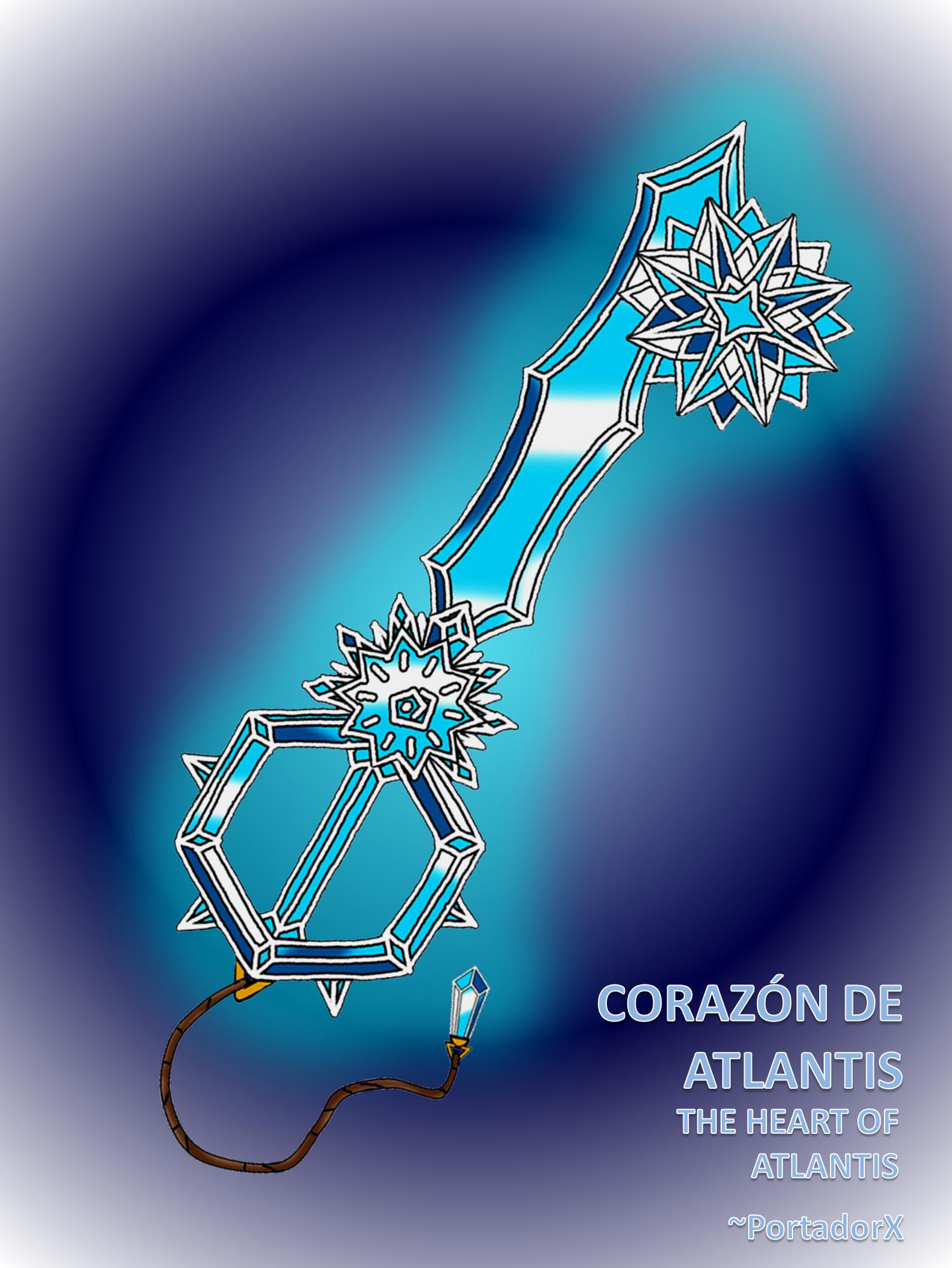 Corazon de Atlantis -The Heart of Atlantis- by portadorX