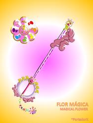 Flor Magica -Magical Flower- by portadorX