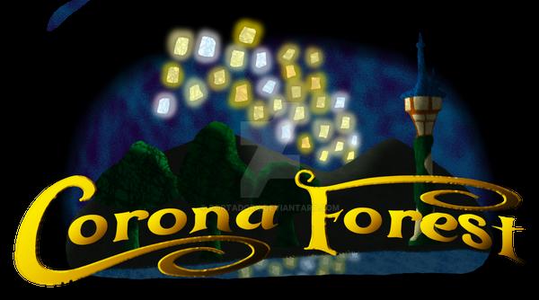 corona forest (tangled) logo by portadorX