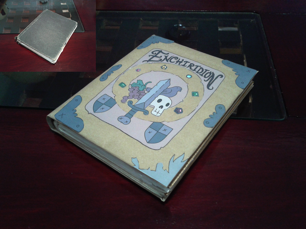my Enchiridion by portadorX