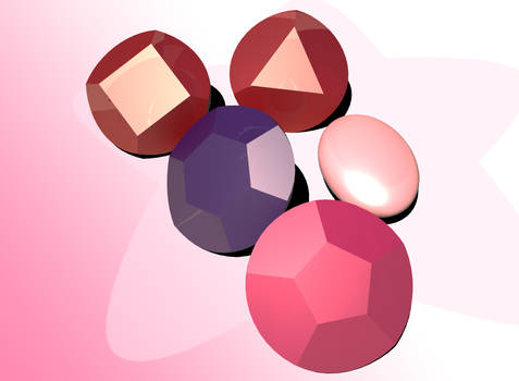 The Gems of the Crystal Gems