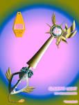 Glaring Light Keyblade