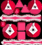 Garnets Papercraft Templates