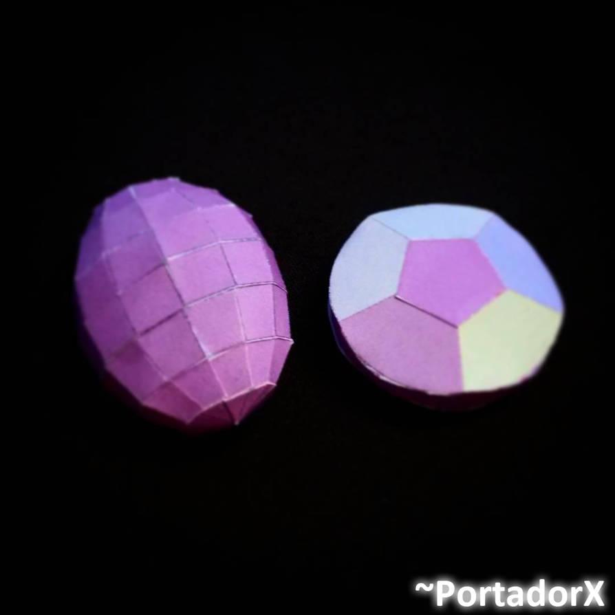Rainbow Quartz Papercrafts Models By Portadorx On Deviantart