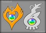 Mega Pendants (Pokemon HeartGold and SoulSilver)
