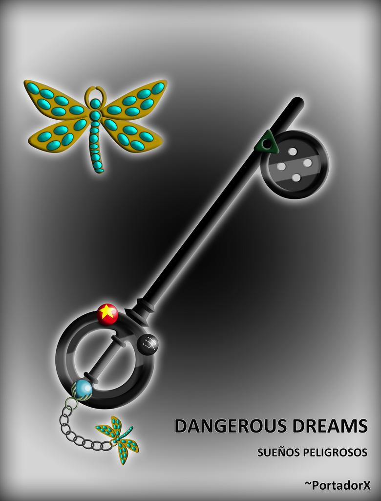 Dangerous Dreams Keyblade by portadorX