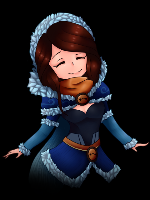 dota 2 mirana snowstorm huntress set by 38250968 on