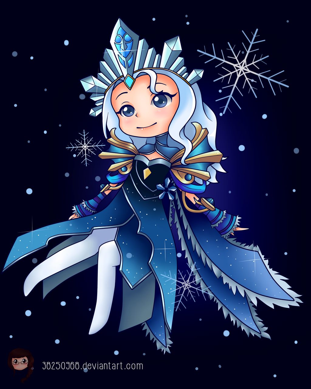 Crystal Maiden Arcana and Immortal Crown~ by 38250968 on ...