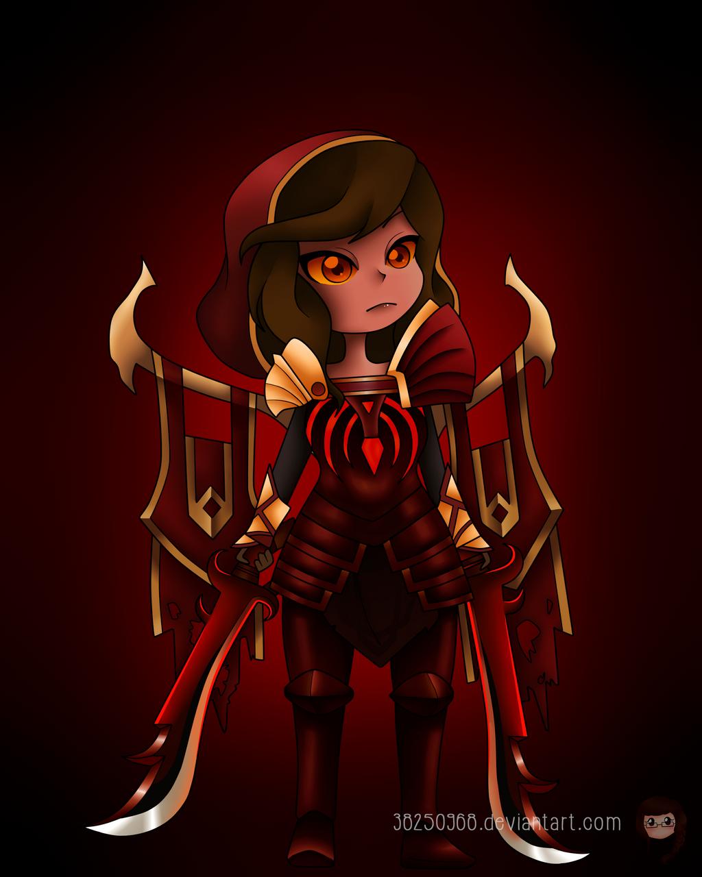 Chibi Legion Commander :) by 38250968 on DeviantArt