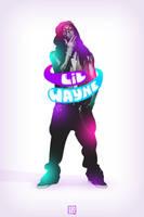 Immortal Lil Wayne by kontrastt