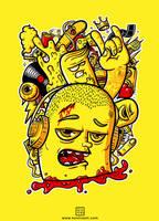 Lotta stuff on my mind. by kontrastt