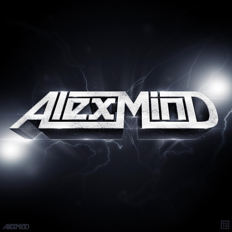 Alex Mind 3D Logo by kontrastt