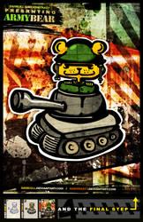 ARMY.BEAR. by kontrastt