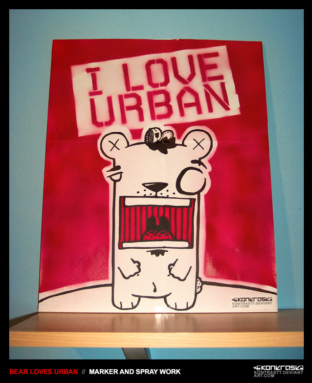 Bear.Loves.Urban. by kontrastt