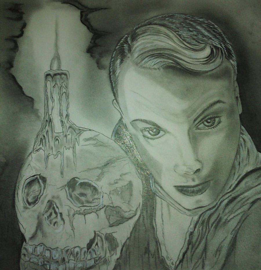 danny's skull by Marieland