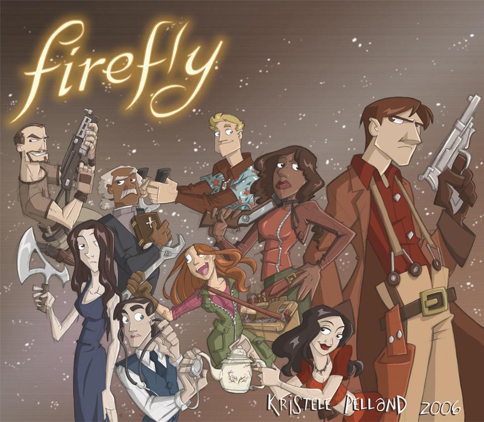 Firefly Fanart in 'Color' by Firefly-Club