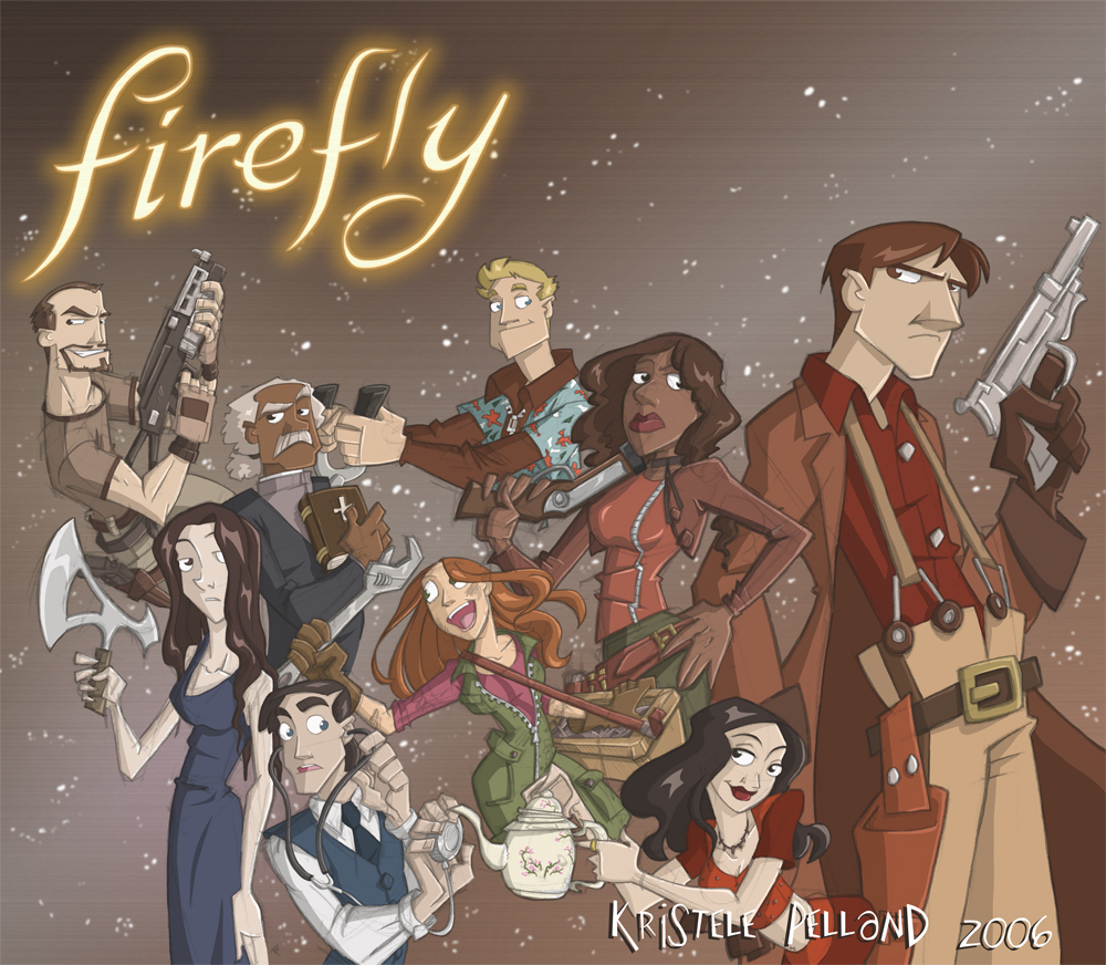Firefly Fanart in 'Color' by Firefly-Club
