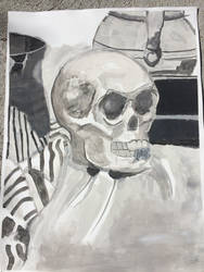 Painting Black and White Only