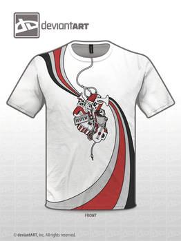 Musically Inspired T-Shirt Design Version 2