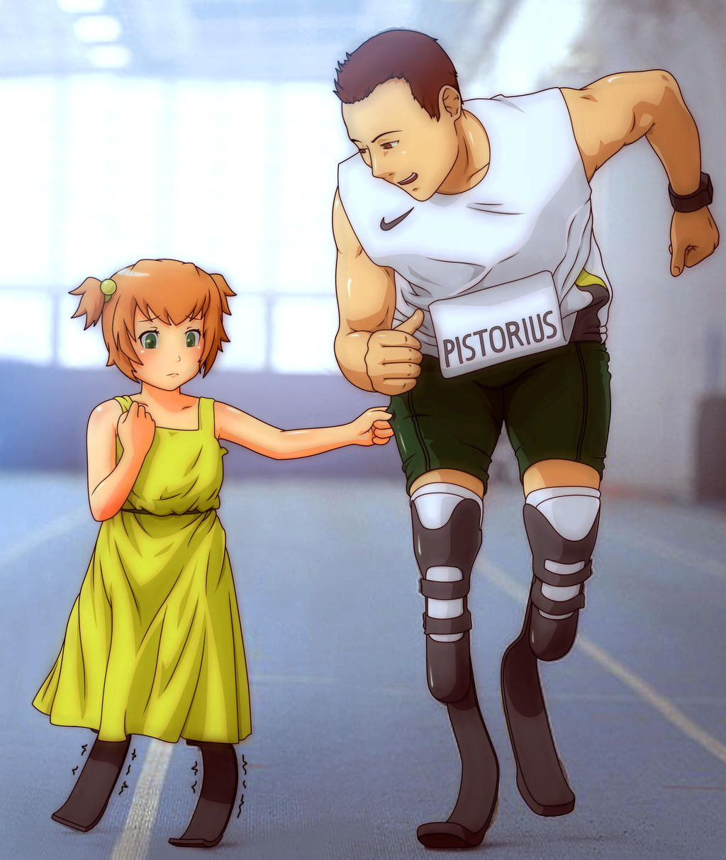 Young Emi and Oscar by SaBeR2T