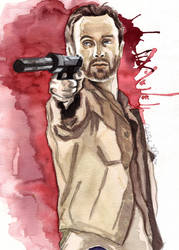 Rick Grimes, TWD by watchherpaint