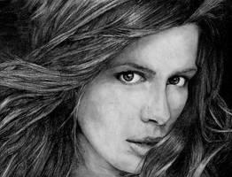 Kate Beckinsale by watchherpaint