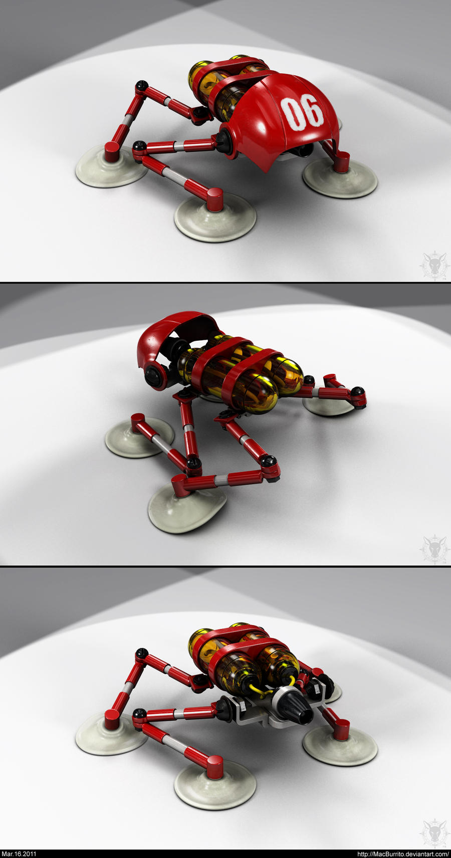 GAFIBOT - Salamander Lighter by MacBurrito