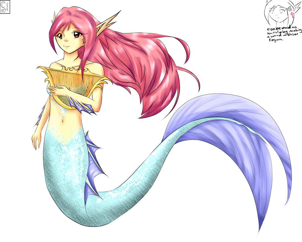 Mermaid OC Aurora By Lillyrosejamie On DeviantArt