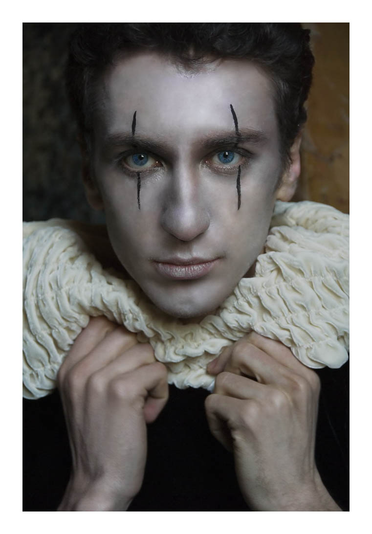 Pierrot the clown by siona