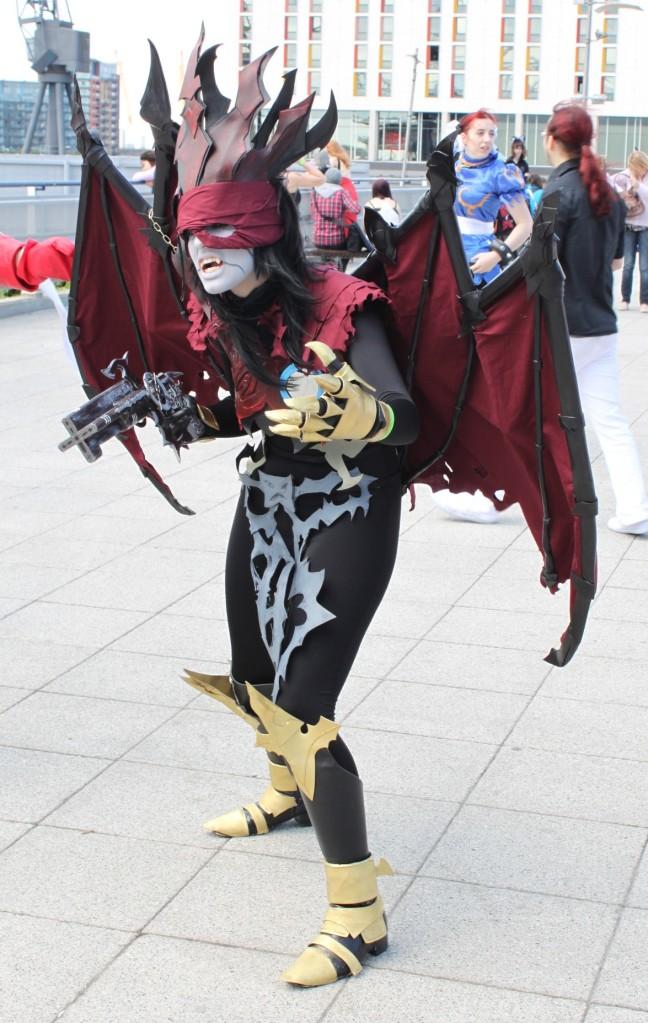 Chaos Vincent cosplay I by JupiterLightning