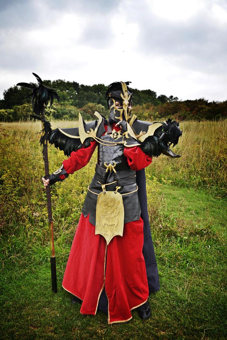 Tyrant Swain cosplay by JupiterLightning