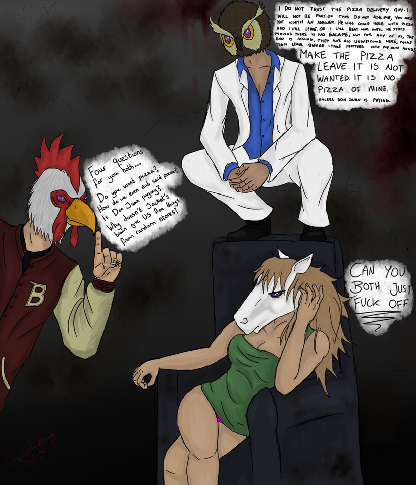 Hotline Miami Chatter by JupiterLightning