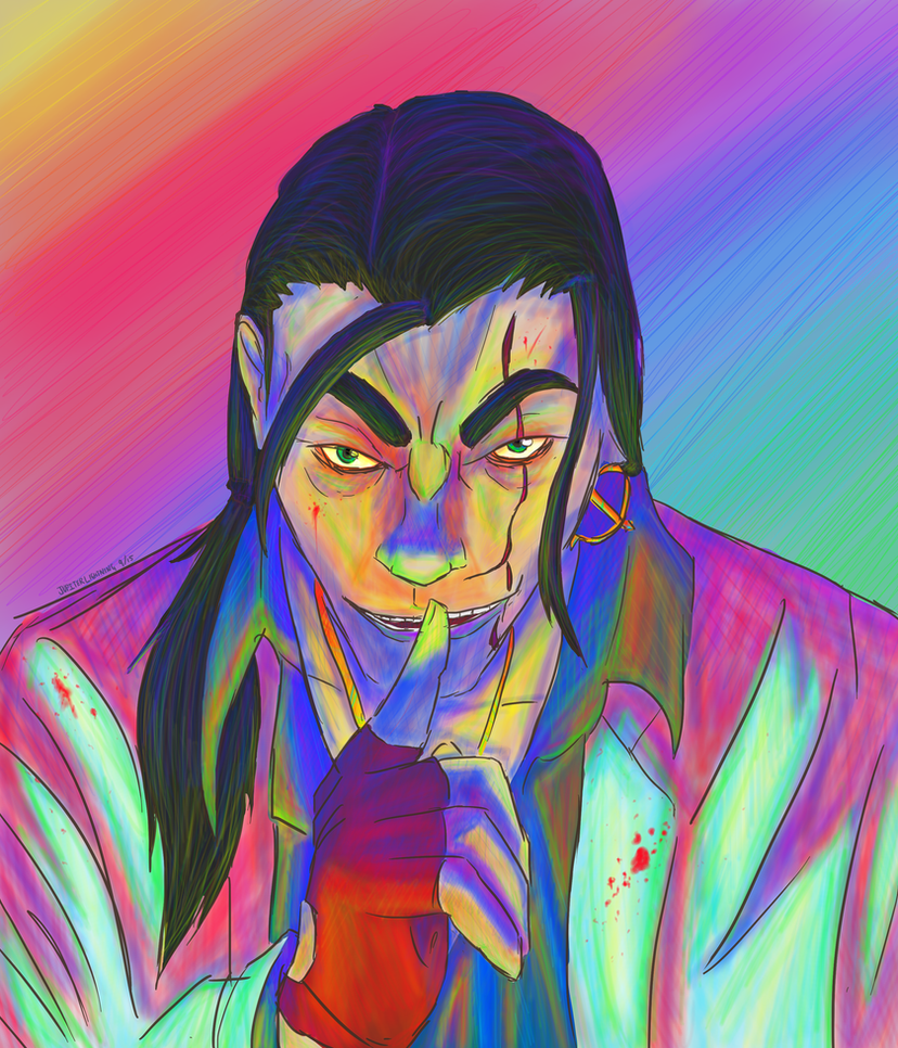 Hotline Miami - The Son by JupiterLightning
