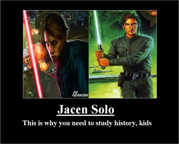 Jacen Solo Poster by Saint-Walker